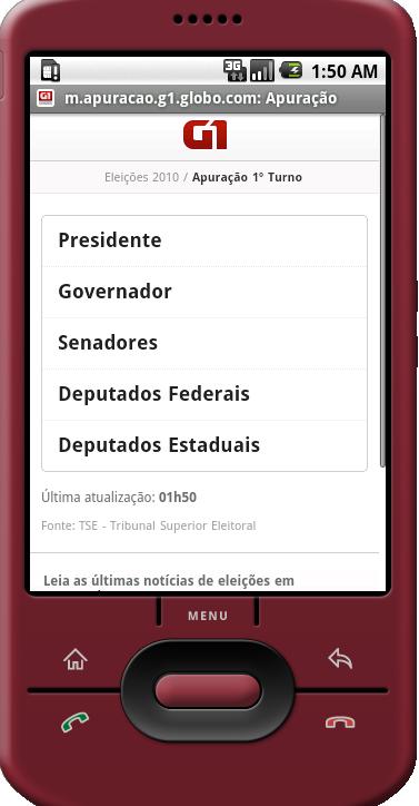 Eleições 2010 no [Android](http://www.android.com/)