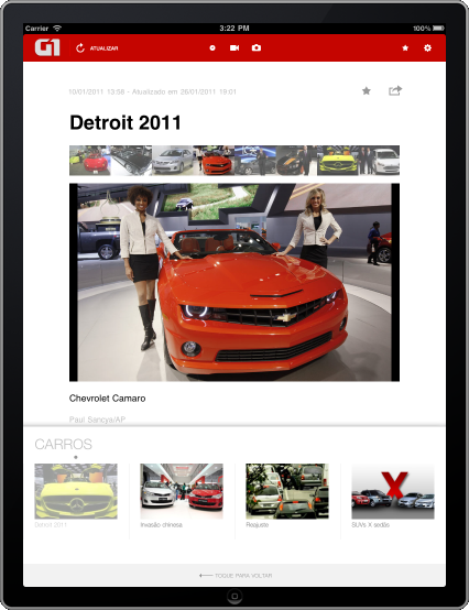 G1 iPad - Galeria