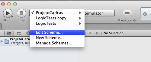Editando um esquema
