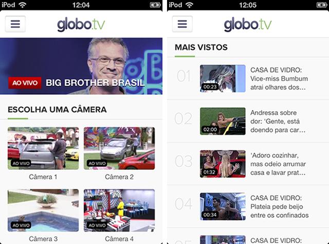 Mobits desenvolve feature do BBB Ao Vivo dentro do app do Globo.tv