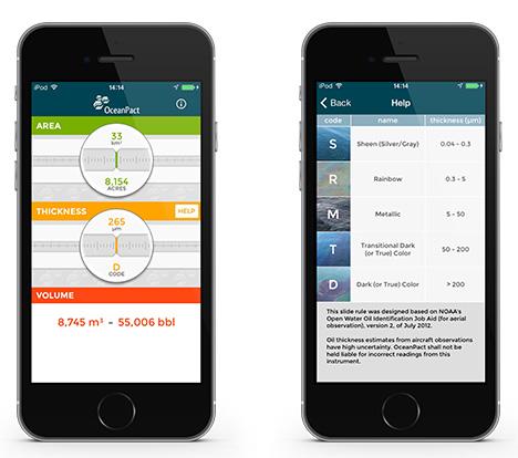 Mobits desenvove aplicativo OceanPact - Oil Spill Calculator
